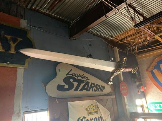 Sword from Sword In The Stone Attraction - AstroWorld