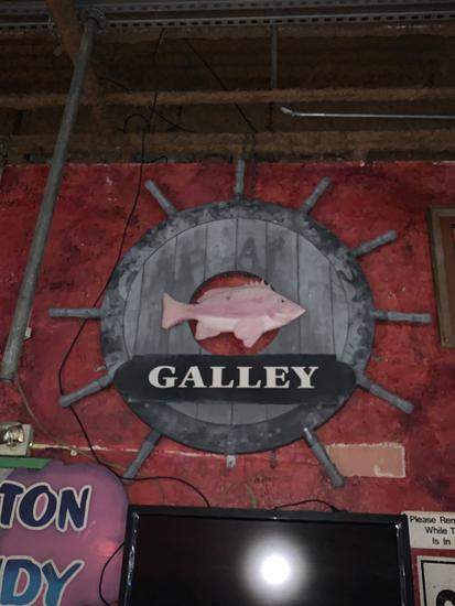Galley Sign