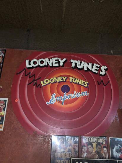 Looney Tunes Emporium Sign