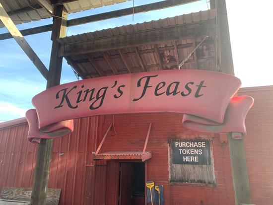 King's Feast Sign