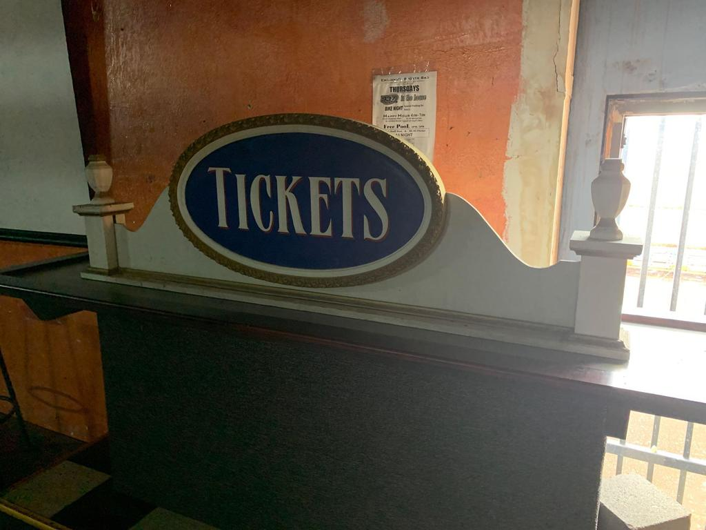 Tickets Sign