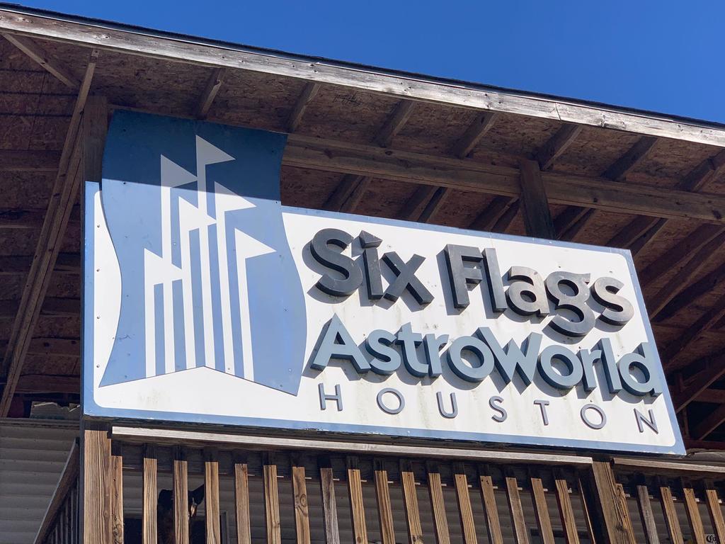 AstroWorld Park Entrance Sign