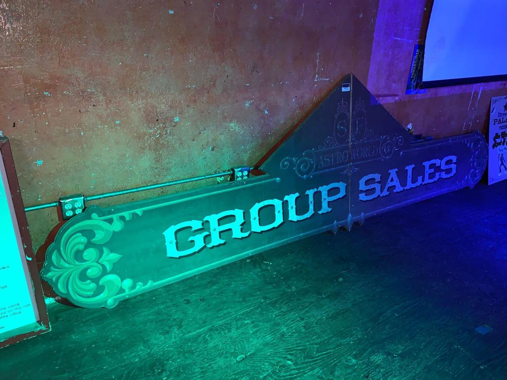 AstroWorld Group Sales Sign