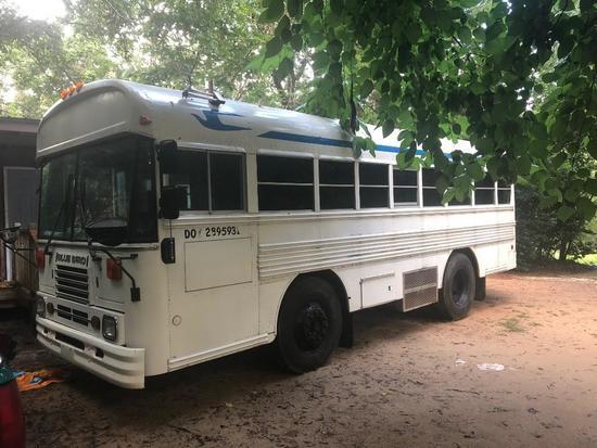 2001 School Transportation Bus Bluebird Body Style: BU- Only 60k original miles!!