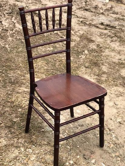 Surplus restaurant chairs