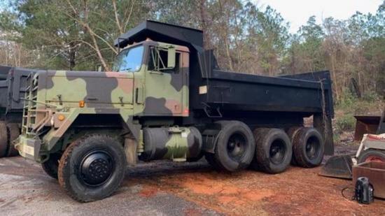AM General M917 8x6 Dump Truck 1980