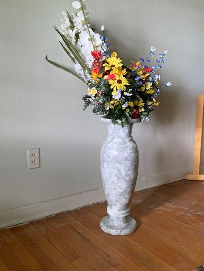 Solid Marble Flower Vase