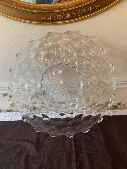 Crystal Hors d'ouvre Serving Tray