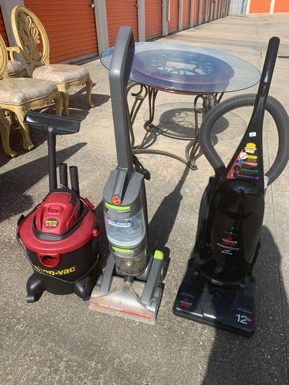 Qty of vacuum cleaners