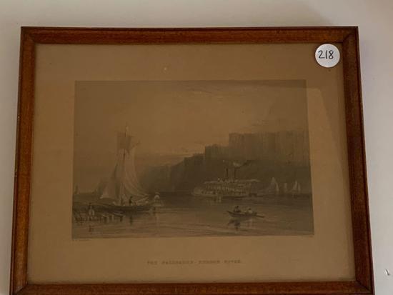 Art print in frame