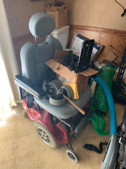 Pride Jazzy Sport power wheelchair