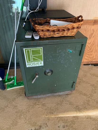 Vintage Diebold two hour fire safe with drier system