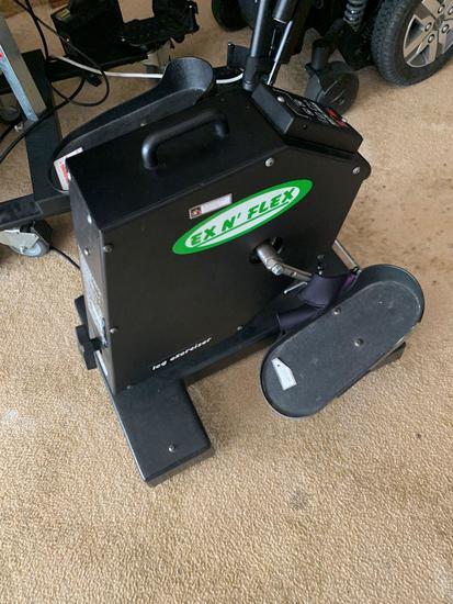 Ex N Flex EF250 Wheelchair leg exerciser unit