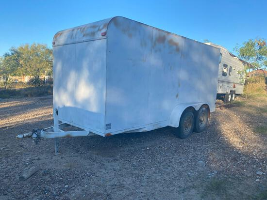 2006 Justin C 16 ft Enclosed T/A Cargo Trailer