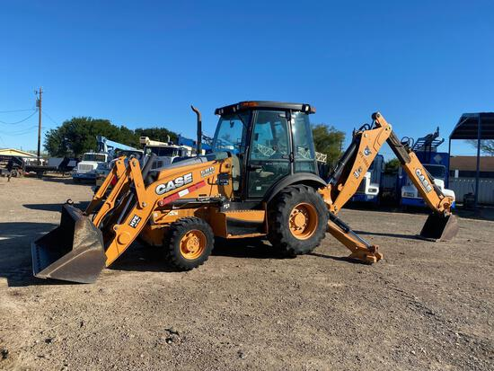 2012 Case 580 Super N 4x4 Backhoe Loader