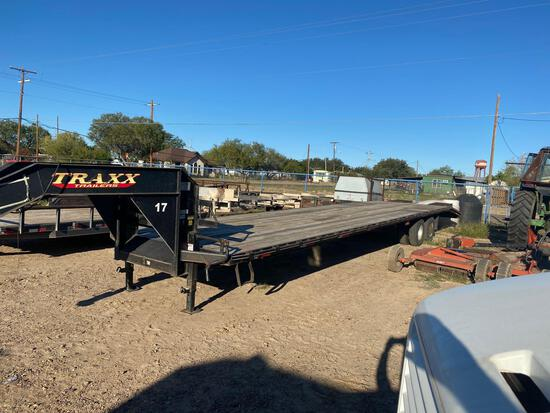 2014 Traxx Trailers T/A Gooseneck Equipment Trailer