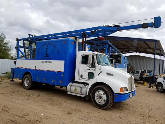 2005 Kenworth T300 S/A Quick Rig Truck