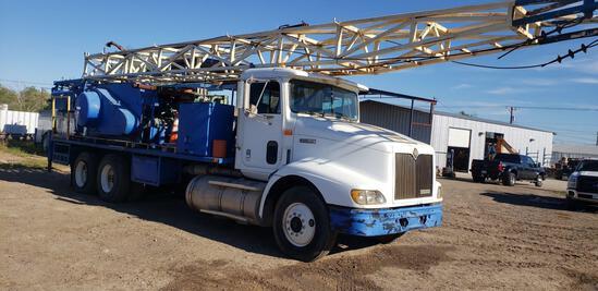 1998 International 9200 T/A Swab Rig Truck