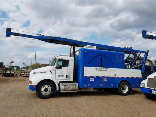 2004 Kenworth T300 S/A Quick Rig Truck
