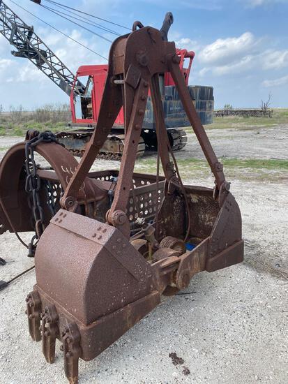 Crane Grapple Bucket