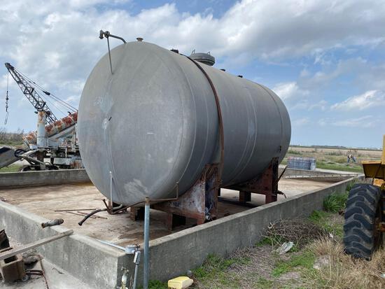 8000 Gal Aluminum Storage Tank