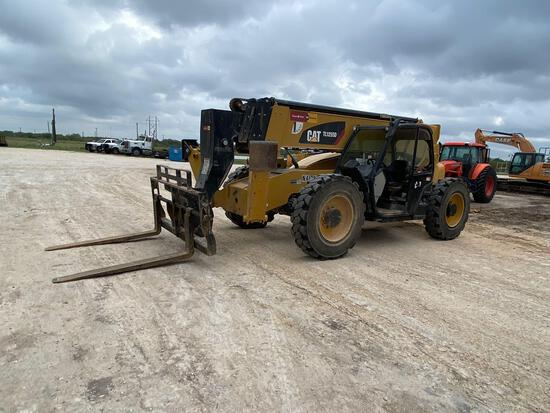 2018 Cat TL1255D Telescopic Forklift