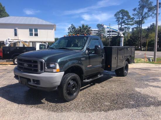 2004 Ford F5550 Mechanics Truck