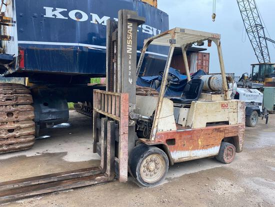 Nissan OW100L 10000 LB Warehouse Forklift