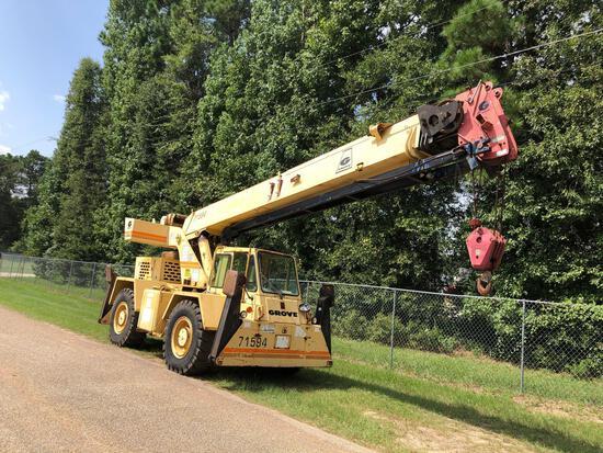 1989 Grove RT58C 18 ton Rough Terrain Crane
