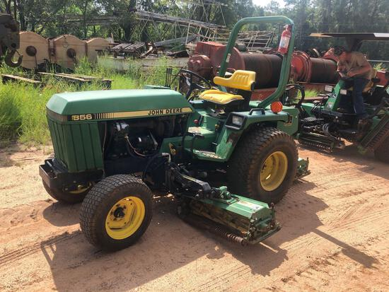 Deere 856 Fairway Mower Tractor