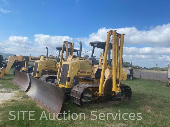 2007 New Holland D95 Crawler Tractor with Midwestern M520C Side Boom
