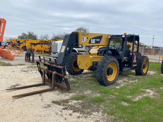 2015 Caterpillar TL943C Telehandler 4x4x4