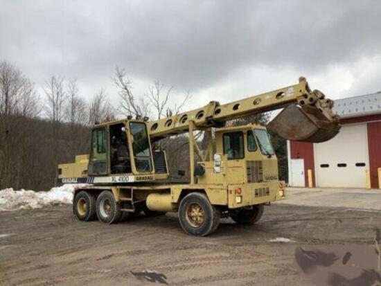 1999 Gradall XL4100 Wheeled Hydraulic Excavator