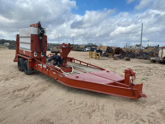 2006 Belshe T18 Trailer w/ Ditch Witch FM 13