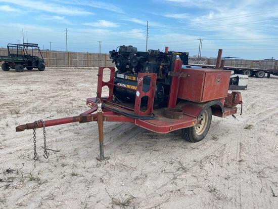 Trailer Mounted Compressor, Generator, Welder System