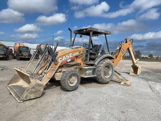 2018 Case 580N EP 4x4 Backhoe Loader