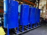 Qty of 4 on skid Unused Yardley 3660 Water Filtration Tanks