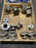 Qty of Stainless Steel Flanges and Fittings