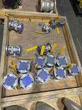 Qty of Unused Stainless Steel Valves
