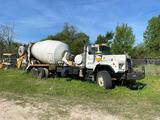 1989 Mack DM690S T/A Mixer Truck
