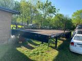 Great Dane T/A Flatbed Trailer