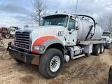2013 Mack GU713 Tri/Axle Vacuum Truck
