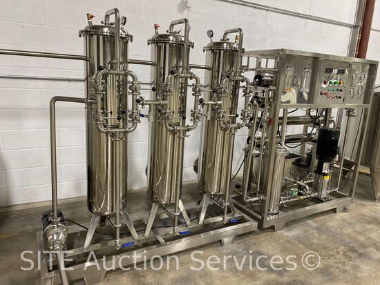 Baolida Reverse Osmosis Water Treatment Plant / Apparatus