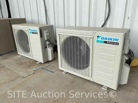 Qty of 2 2018 Daikin RXB18AXVJU Heat Pump Systems