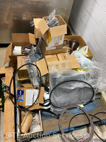 Assorted Parts, Filters, & Belts