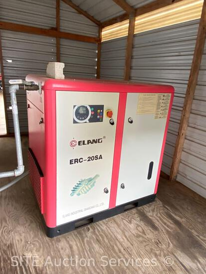 2018 Elang ERC-20SA Screw Air Compressor