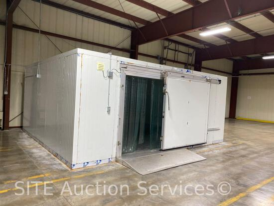 16x20 insulated walk-in refrigerator