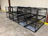 Qty of 5 commercial racking systems
