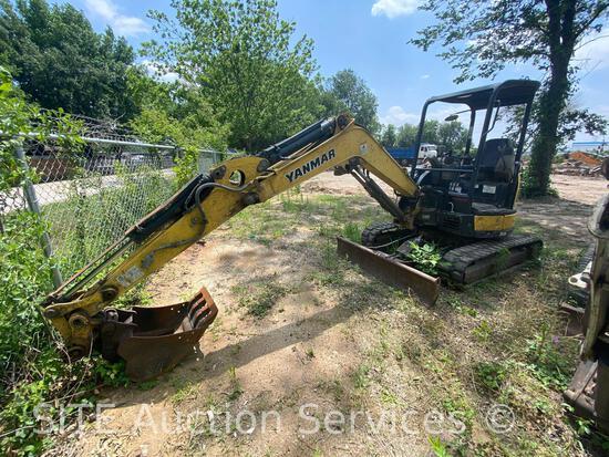 2014 Yanmar ViO35 Mini Excavator