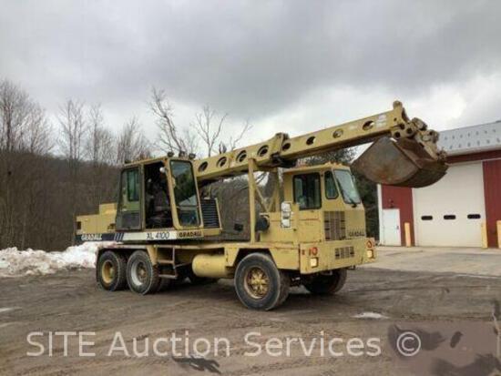 Gradall XL4100 Wheeled Hydraulic Excavator